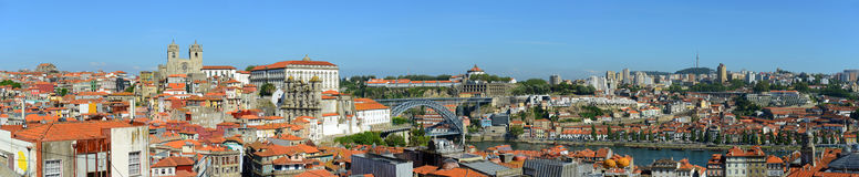 Porto Old City Panorama, Porto, Portugal Stock Images
