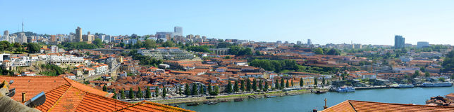 Porto Old City Panorama, Porto, Portugal Royalty Free Stock Image