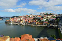 Porto Old City River View, Porto, Portugal Royalty Free Stock Photography