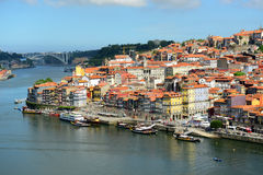 Porto Old City River View, Porto, Portugal Stock Photography