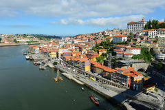 Porto Old City River View, Porto, Portugal Royalty Free Stock Images