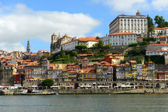 Porto Old City River View, Porto, Portugal Stock Images