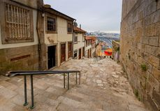 Porto. Old street. Royalty Free Stock Images