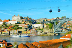 Porto Old Town skyline, Portugal Royalty Free Stock Images