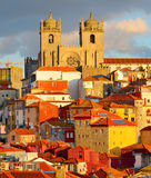 Porto Old Town view, Portugal Stock Image