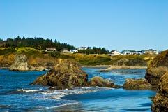 Porto Orford, Oregon Fotografia de Stock Royalty Free