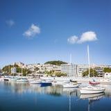 Porto oriental Nova Zelândia do louro de Wellington fotos de stock royalty free