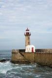 Porto PÃ latarnia morska Obraz Royalty Free