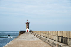Porto PÃ latarnia morska Zdjęcie Royalty Free