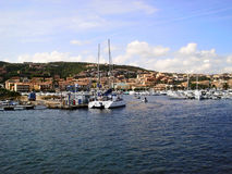 Porto Palau Fotografie Stock