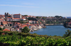 Porto-Panorama Stockbild