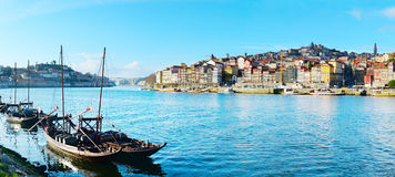 Porto panorama, Portugal royalty free stock photo