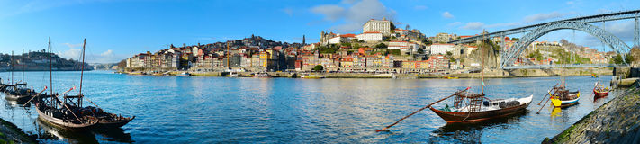 Porto panorama, Portugal Royalty Free Stock Photography