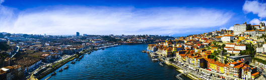 Porto panorama Royalty Free Stock Images