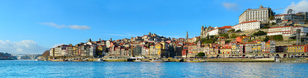 Porto panoramic view, Portugal Royalty Free Stock Image