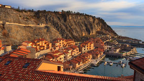 Porto piccolo, Sistina. Italy Royalty Free Stock Image