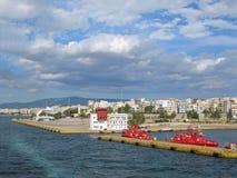 Porto Pireo Fotografia Stock Libera da Diritti