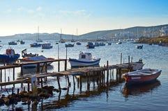 Porto pittoresco fotografie stock