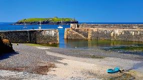 Porto pittoresco del montante in Cornovaglia immagine stock