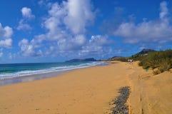 Porto plażowy santo obrazy stock