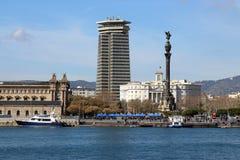 Porto porto Vell di Barcellona, Spagna Immagini Stock Libere da Diritti