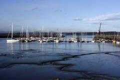 Porto portuário de Edgar, Scotland Imagem de Stock Royalty Free