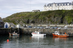 Porto portuário de Patrick, Galloway, Scotland Foto de Stock