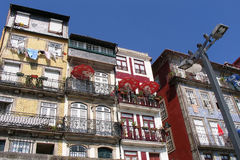 Porto, Portugal. A view from the typical housing at Porto, Portugal Stock Image