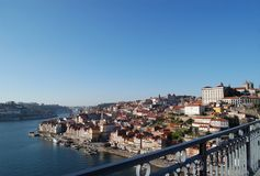 porto portugal Arkivbild