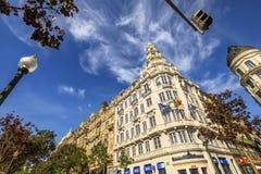 BBVA bank Oporto Royalty Free Stock Photos