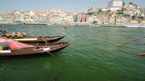 Porto Ribeira skyline stock video