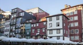 Porto Portugal - byggnaderna Fotografering för Bildbyråer