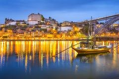 Porto Portugal Cityscape Royaltyfri Bild