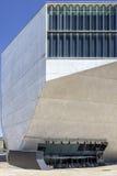 PORTO, PORTUGAL - 5 DE JULHO DE 2015: Vista do local de encontro do marco da Dinamarca Musica da casa Imagens de Stock