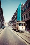 Porto, Portugal 21 de maio de 2015: Casas coloridas de Porto Ribeira, Por Fotos de Stock