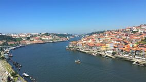 Porto Portugal Duoro River View stock photography