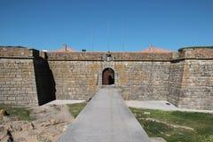 Porto, Portugal: Forte Sao Francisco Xavier or Castelo do Queijo Stock Photography