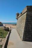 Porto, Portugal: Forte Sao Francisco Xavier or Castelo do Queijo Stock Images