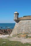 Porto, Portugal: Forte Sao Francisco Xavier or Castelo do Queijo Royalty Free Stock Photography