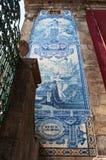 Porto, Portugal, Iberian Peninsula, Europe, azulejos, church. Porto, 27/03/2012: details of Church of Saint Ildefonso, a 18th century church built in a proto Stock Images
