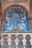 Porto, cathedral, azulejos, cloisters, Portugal, Iberian Peninsula, Europe stock image