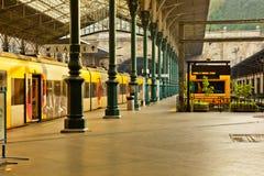 porto portugal järnvägstation royaltyfria bilder
