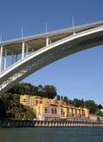 Porto, Portugal - juli 10 2010: brug Royalty-vrije Stock Afbeelding