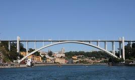 Porto, Portugal - juli 10 2010: brug Royalty-vrije Stock Foto's