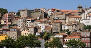 Porto, Portugal - juli 10 2010: stadscentrum Stock Foto's