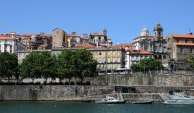 Porto, Portugal - juli 10 2010: stadscentrum Stock Foto