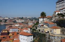 Porto, Portugal - juli 10 2010: stadscentrum Royalty-vrije Stock Afbeeldingen