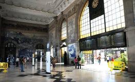 Porto, Portugal - juli 10 2010: station Royalty-vrije Stock Foto