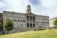 PORTO, PORTUGAL - JULY 04, 2015: The Palácio da Bolsa. (Stock Exchange Palace), a historical building in Oporto, built in the 19th century by the city's royalty free stock images