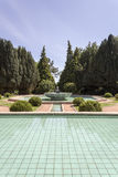 PORTO, PORTUGAL - JULY 05, 2015: Serralves gardens green park Royalty Free Stock Images